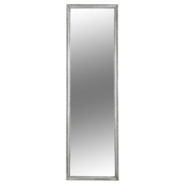 Tükör ezüst színű fakerettel MALKIA TYP 3