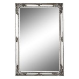Tükör ezüst színű fakerettel MALKIA TYP 6