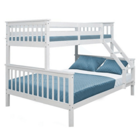 Emeletes kinyitható ágy  fehér BAGIRA