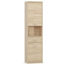 Polcos szekrény 2D1S, sonoma tölgyfa, TEYO