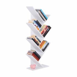 Könyvespolc fehér BAKI NEW TYP 2