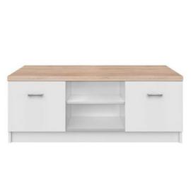 RTV asztal 2d DTD laminált fehér tölgy sonoma TOPTY