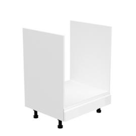 Szekrény a beépíthető készülékekre fehér fehér extra magasfényű AURORA D60ZK