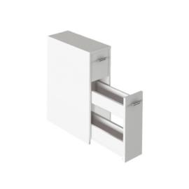 Fürdőszoba szekrény, fehér, NATALI TYP 7