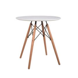 GAMIN 60 étkezőasztal szín: bükkfa   fehér