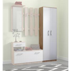 ESTERA szekrény sonoma tölgy/fehér