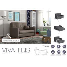 VIVA BIS II. előre nyíló rugós kanapé