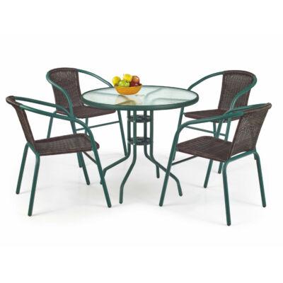 GRAND 80 asztal, sötét zöld