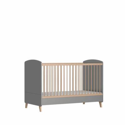 Faktum Colette grey - Átalakítható 140-es babaágy, kiságy