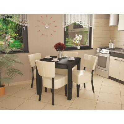 Róma étkezőgarnitúra, Fix asztallal, 6db székkel