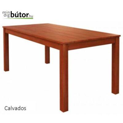 Monica asztal, étkezőasztal 160-as bővíthető, dió színben