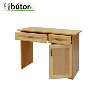 Betétes duplafiókos íróasztal