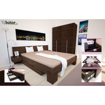 Michel ágy, ágyráccsal, 2 darab éjjeliszekrénnyel