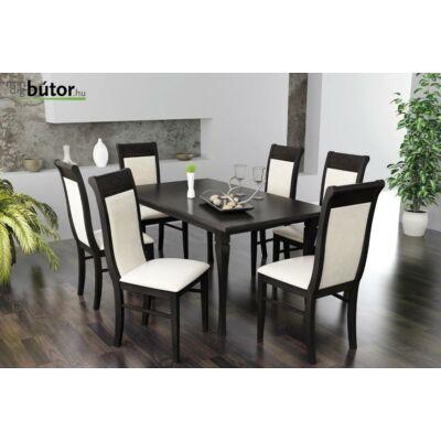 Raffaello étkezőgarnitúra, Raffaello bővíthető étkezőasztal, 6db Raffaello szék