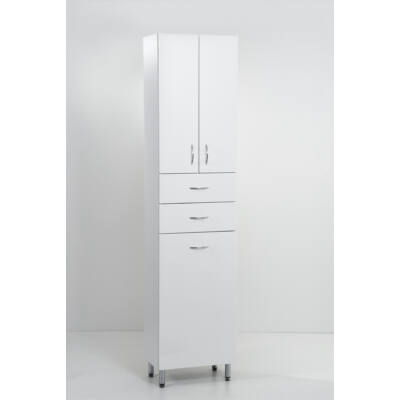 Standard 45 álló szekrény 4 ajtóval 1bukó szennyestartóval 2fiókkal