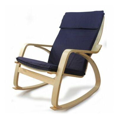 relax fotel ROCKER kék