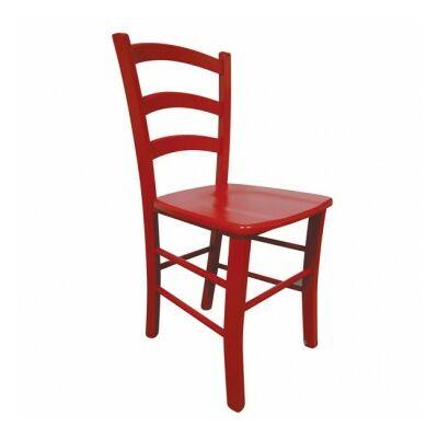 szék PAESANA piros