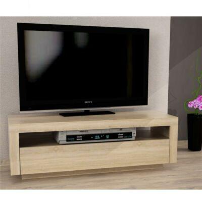 TV asztal/szekrény, sonoma tölgyfa, AGNES