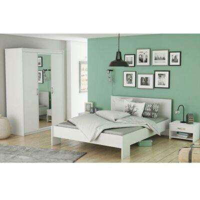 ROKET ágy fiókokkal, 140x200, sonoma tölgyfa