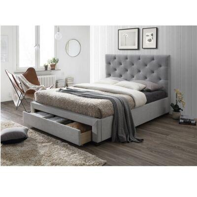 SANTOLA luxus modern ágy lécezett ágyráccsal ellátva 160x200