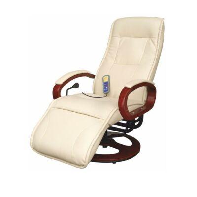 Mechanikusan állítható pihenőfotel, bézs, ARTUS