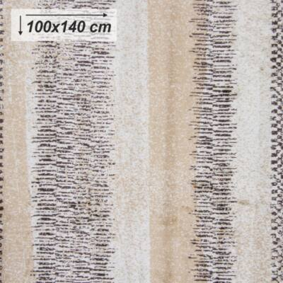AVALON szőnyeg 100x140 cm, bézs / minta