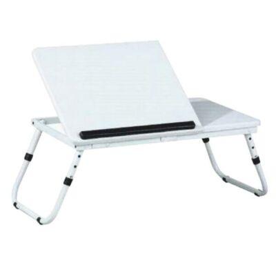 Laptop asztal, notebook asztal, evald fehér