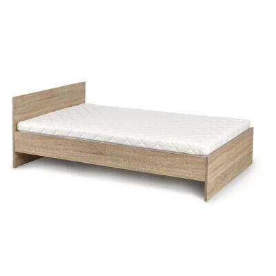 Lima ágy, 90 cm sonoma