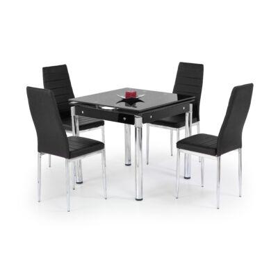 Kent bővíthető asztal, fekete