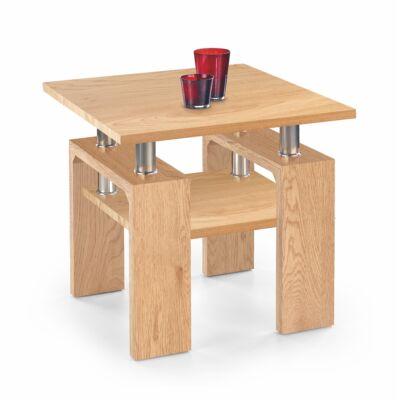 Diana h mdf kwadrat dohányzóasztal, aranytölgy
