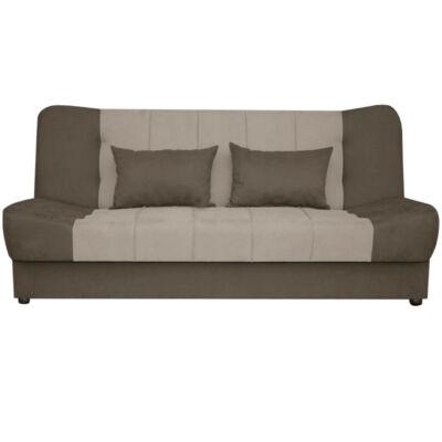 Sonia ágyazható, ágyneműtartós kanapé BARNA SZÍNBEN