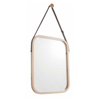 Tükör, természetes bambusz, LEMI 2