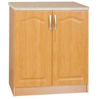 Felső szekrény, sonoma tölgyfa/fehér, MONDA W60