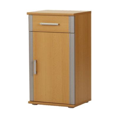 Alsó szekrény, bükkfa,ezüst, LISSI 06 TÍPUS