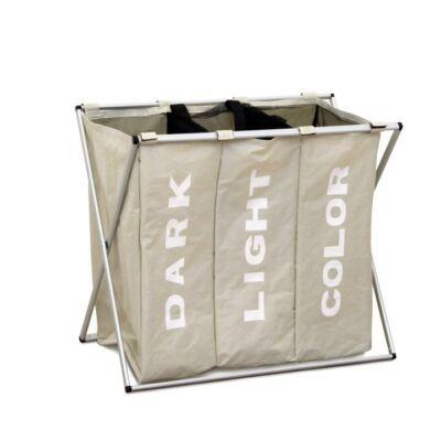 Laundry mósókosár szürkés bézs LAUNDRY 3 TÍPUS