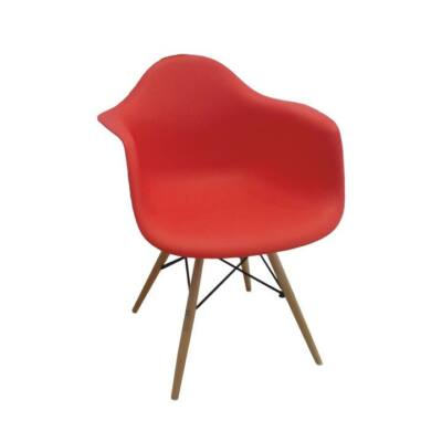 Fotel piros bükk DAMEN NEW