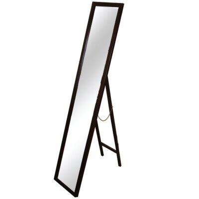 Tükör barna színű fakerettel, MALKIA TYP 4