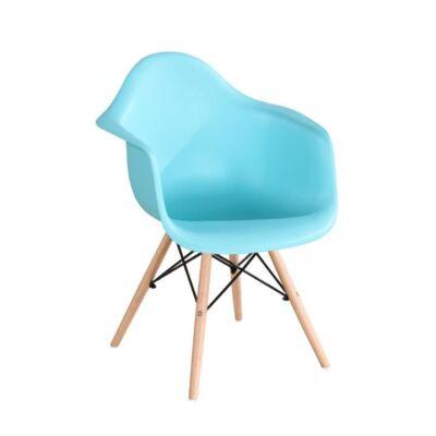 Fotel, bükkfa+fekete, DAMEN