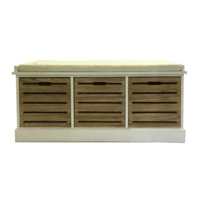 Dohányzóasztal, változat: MDF fehér/fekete extra magas fényű, DEMBA LCT300