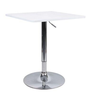 Bár asztal állítható magasságú fehér FLORIAN New