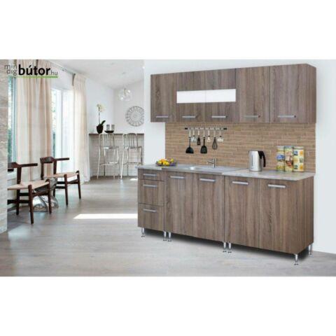 Anikó konyhablokk bútorlap fronttal több színben rendelhető 200 cm