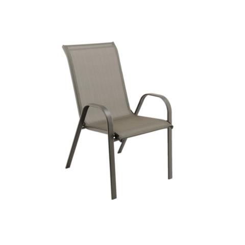 Rakásolható szék, szürke, ALDERA