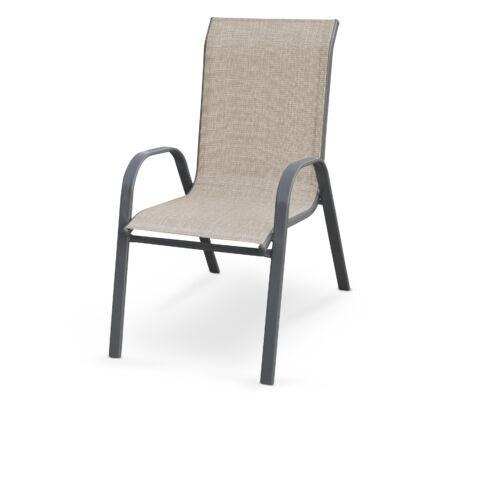 MOSLER kerti szék szürke