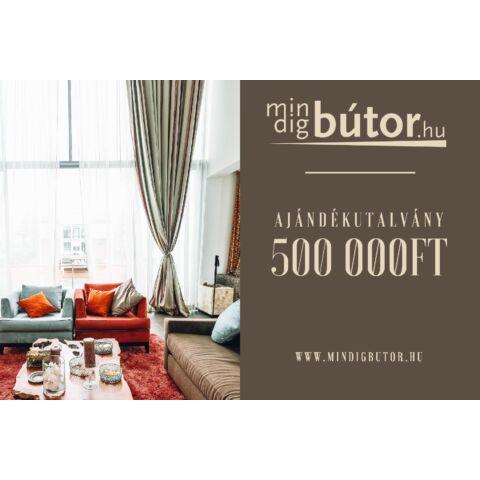 Ajándékutalvány Voucher 500 000 Ft