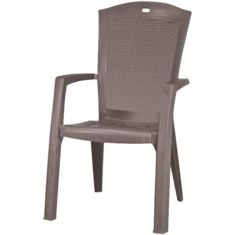 Allibert minnesota kartámaszos műanyag kerti szék