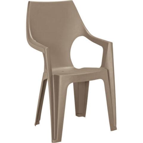 Allibert dante kartámaszos magas támlás műanyag kerti szék