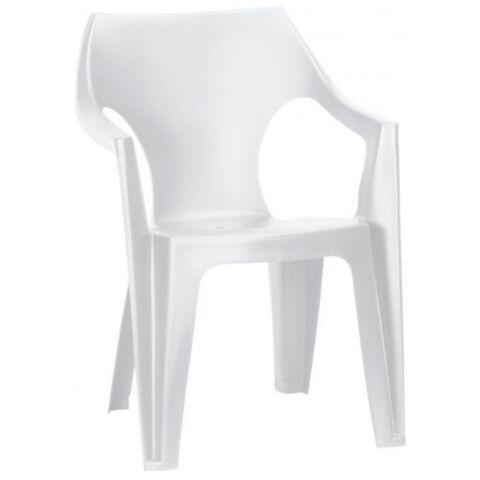 Curver Dante alacsony támlás műanyag kerti szék fehér