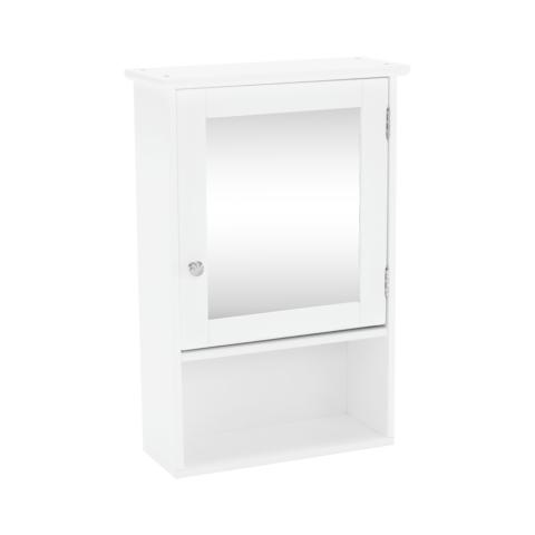 Faliszekrény tükörrel fehér ATENE TYP 2