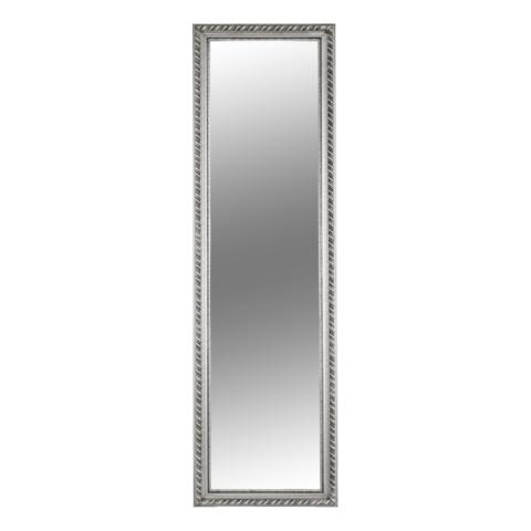 Tükör ezüst színű fakerettel MALKIA TYP 5