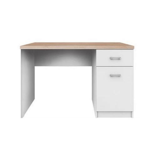 PC asztal 1d1s DTD laminált fehér tölgy sonoma TOPTY